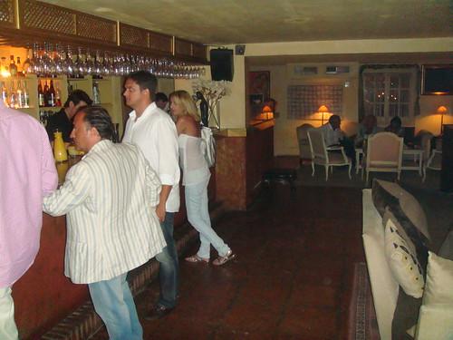 Barra de la discoteca