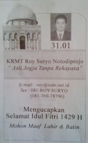 Roy Suryo Banget