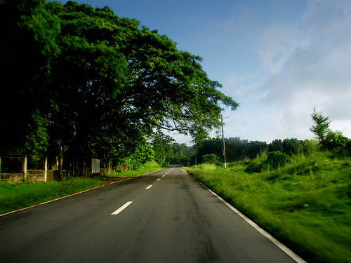 A Lonely Tarlac Road