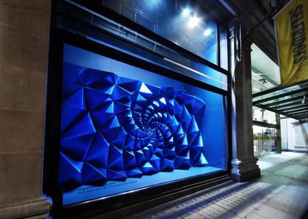 the apifera, selfridges window