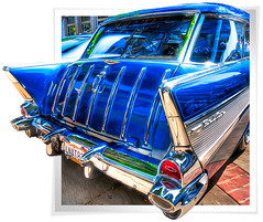 Nomad's Border Crossing (big_pixel_pusher) Tags: blue classic car vintage chevy 1957 hotrod nomad whittier outofbounds oob aplusphoto ultimateshot 2008uptownwhittiercarshow bppfoto worldmachineshdr