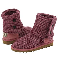 Kids UGG Cardy Boots in Mulberry Pink