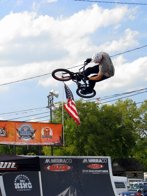 100 Things to see at the fair #20: BMX Stuntbike