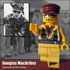 Douglas MacArthur (Morgan190) Tags: canon lego powershot historical minifig custom a510 minifigure canona510 fineclonier morgan19 2007historicalfigurecontest