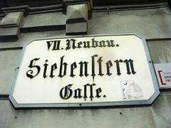 Siebensterngasse 1 (dugspr  Home for Good) Tags: vienna wien austria sterreich bier 2008 spittelberg burggasse siebensterngasse 7neubau beisln siebendternbrau