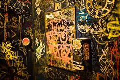 Vanity Closet. (lee.starnes) Tags: atlanta music delete10 delete9 delete5 bathroom graffiti delete2 delete6 delete7 delete8 delete3 save7 save8 delete delete4 save save2 east save9 save4 lee save5 graff save6 theearl eastatlanta starnes hollygolightly eastatlantavillage leestarnes