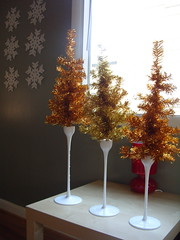 Dollar store christmas (bunbunlife) Tags: snowflake christmas trees red white tree ikea lamp gold store mural fake tinsel dollar decor candlesticks mouthblown ikeahackers