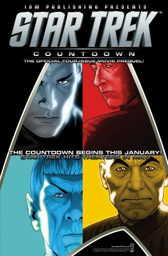 idw Countdown mini-series