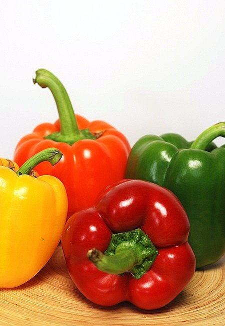 bell pepper or capiscum© by Haalo