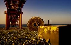 CMC loading pier (U Kersting) Tags: d50 nikon rusty rost coppermine cmc lefke northcyprus