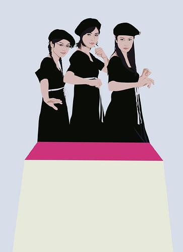 Ueno Juri & Taira Airi & Seki Megumi
