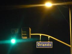 Orlando street sign