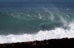 Sancho's infamous wave (Daniel Moreira) Tags: ocean sea portugal rock canon mar surf wave cave benjamin ericeira oceano rocha onda towin 50d sanchis