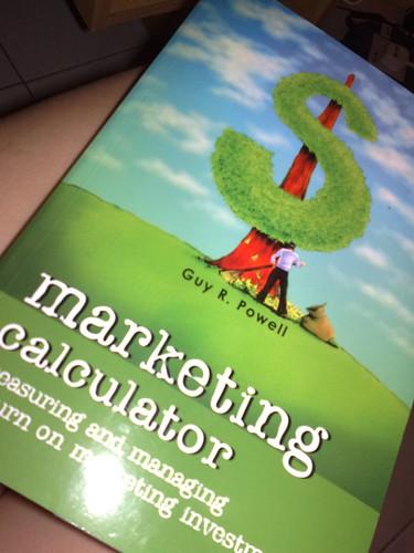 Marketing book.