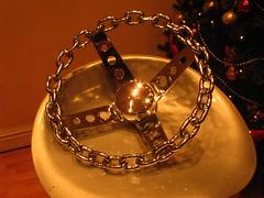 My New Steering Wheel - 1970's Retro Chain-link Goodness (RMInternet) Tags: chain chainlink steeringwheel