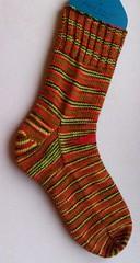 grinchy sock