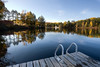 Cottage Dock - Autumn