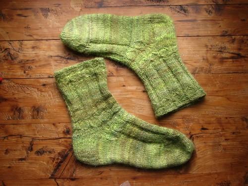 Winter Solstice socks