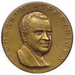 1969 Nixon Inaugural Medal obv