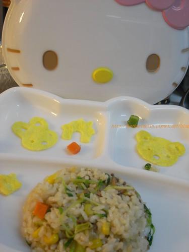 你拍攝的 Kids meal。