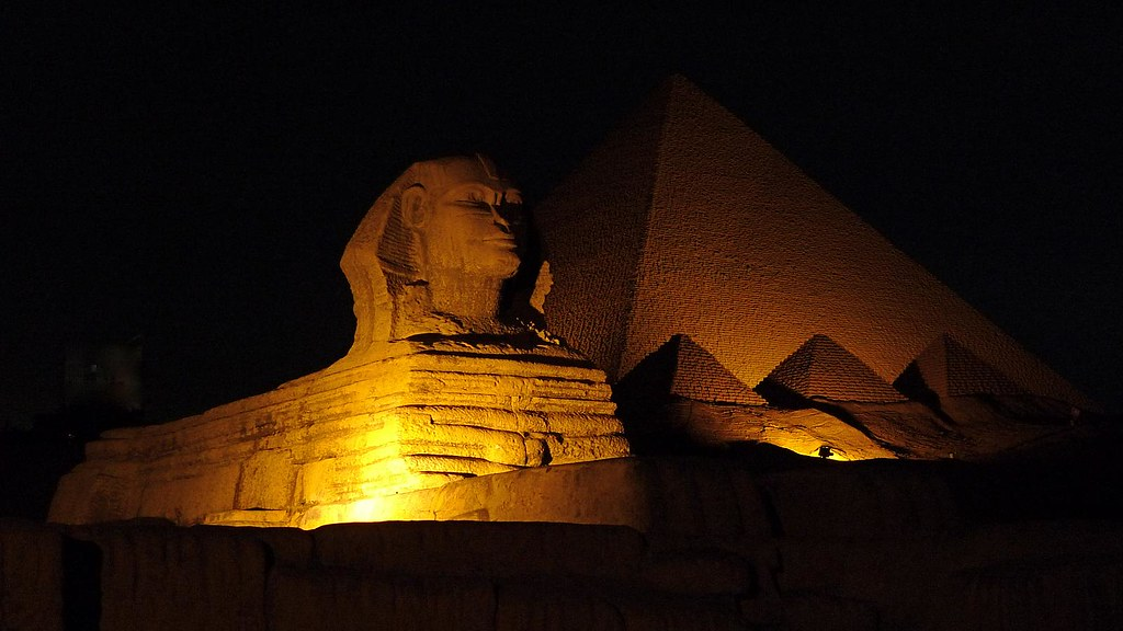 Fake Pyramids and Sphinx