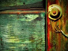 Witnessing Time (hurleygurley) Tags: door wood detail 1025fav la interestingness sam decay warehousedistrict explore historical rgb hg hurleygurley kodama bluegreen urbanexploring etcet elisabethfeldman
