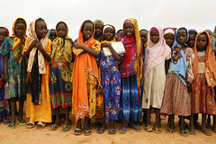 Registration for the new school year (UNHCR) Tags: africa school girls camp colors education chad refugee sudan hijab rights darfur registration unhcr displacement schoolyear refugiado refugie djabal
