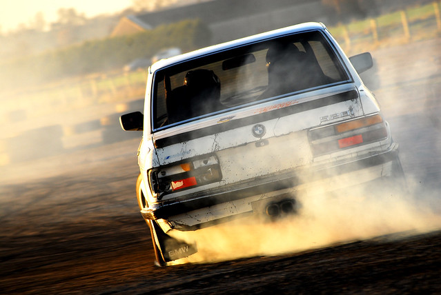 auto old ireland sunset white cars up car nikon flickr smoke automotive retro explore beat bmw d200 northern tyres tyre drifting bwm 528i e28 explored nutscorner