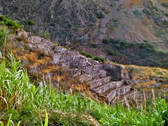 Terraces Walk (Grete Howard) Tags: trekking trek walking hiking walk terraces hike agriculture brava caboverde plantations capeverde fajadagua