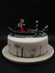 Venice (Betty´s Sugar Dreams) Tags: venice hamburg venedig torte gondel gondolieri geburtstagstorte motivtorte betty´ssugardreams sugardreamsde bettinaschliephakeburchardt
