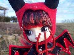 I may be a demon but I am cute (DisorderedCutUp) Tags: cute dal demon devil knight junplanning lipoca