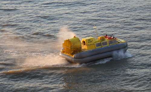 Hovercraft on the River Thames