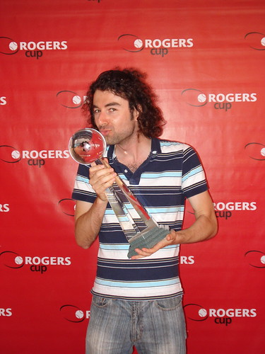 I won the Canadian Open tennis tournament
