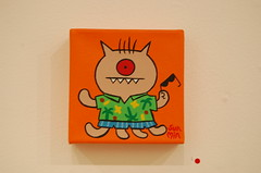 Uglycon NYC (14) (saki-waki) Tags: art giantrobot painting toys plushies vinyls uglydolls grny davidhorvath uglycon