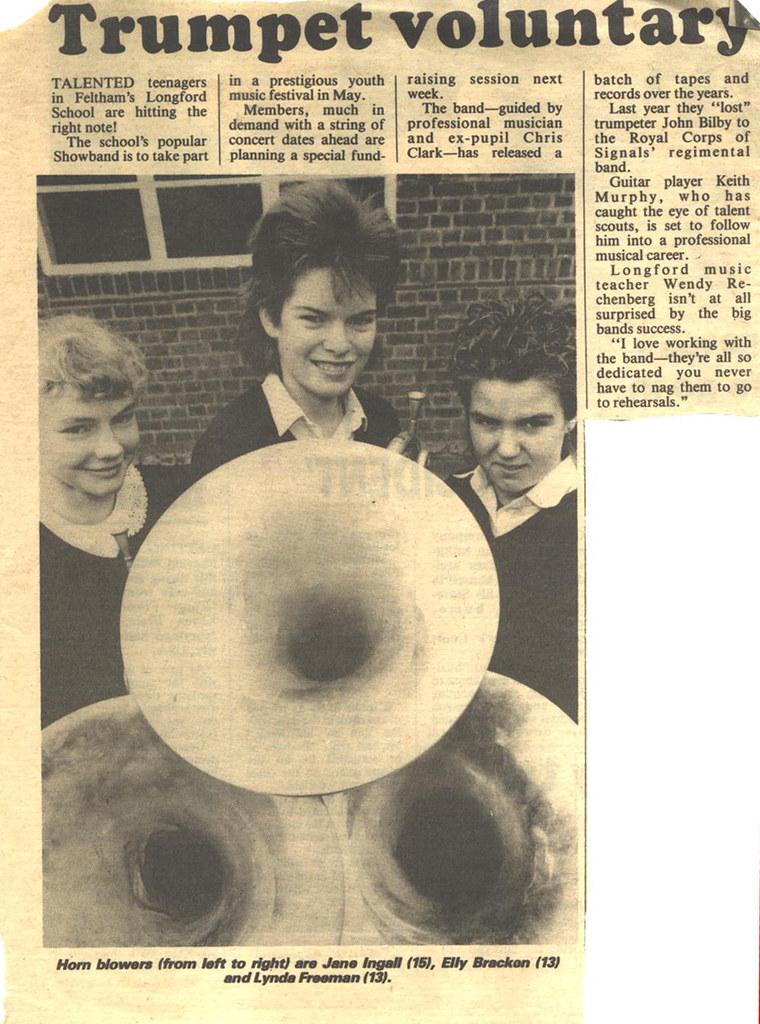 newspaper cutting horns