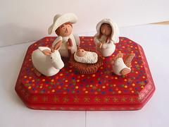 Nacimiento (Lorena Angulo) Tags: handmade polymerclay nativity nacimiento mexicanfolkart handsculpted