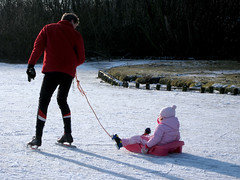 Rotterdam on Ice (birgitsandiego) Tags: ice rotterdam skating schaatsen kralingseplas