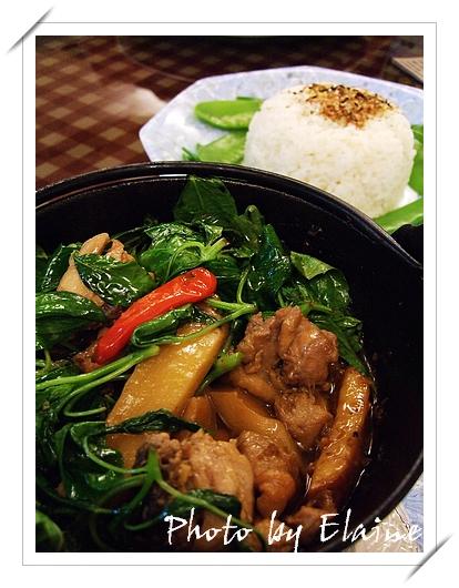 緬式辣筍嫩雞飯