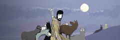 sonofmanmachine-with-dogs (rrooyyccee) Tags: fiction dogs star comic ninja manga science wars beardo manmachine