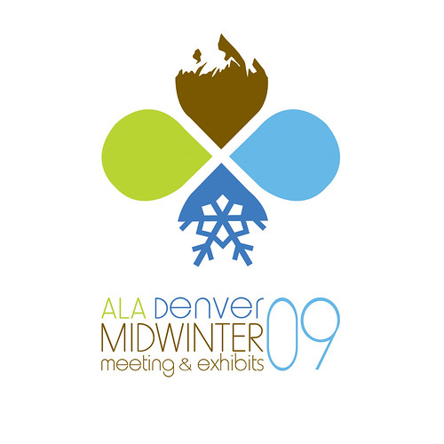 Midwinter 09 Logo, ALA