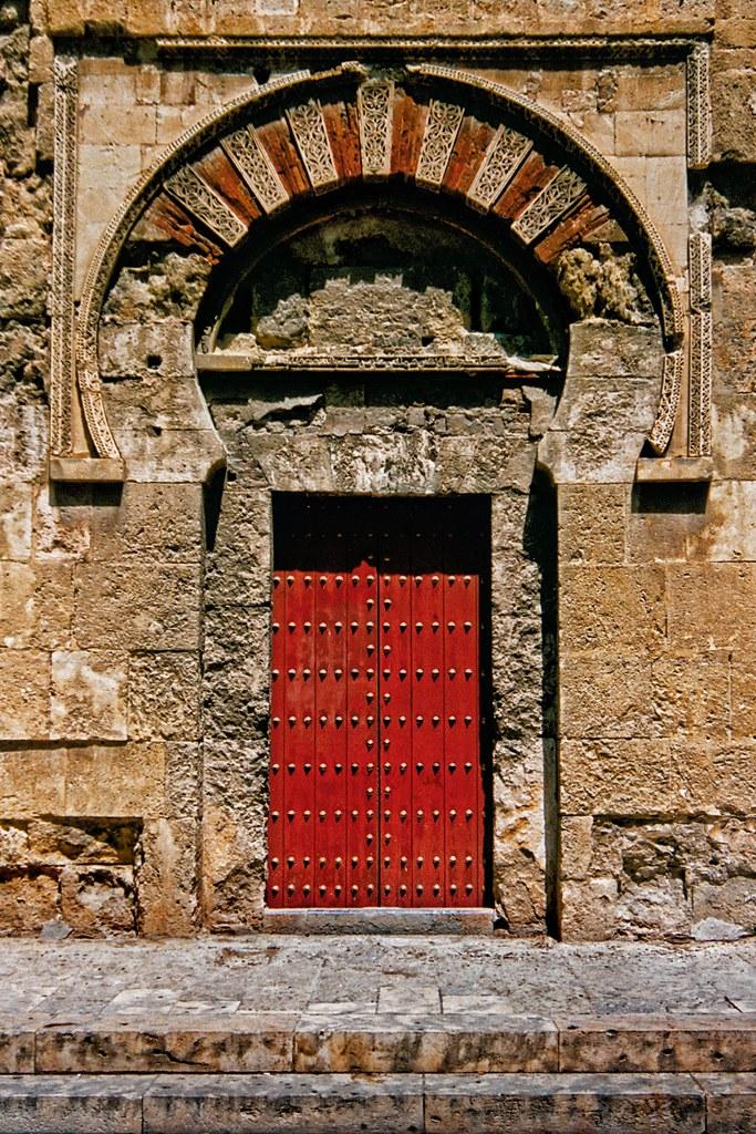 Spain - Andalucia - Cordoba Mosque door