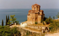 Sveti Jovan Kaneo, Ohrid, Republic of Macedonia (keithhull) Tags: red lake church macedonia ohrid 1990 byzantine onfilm topshots bej abigfave platinumphoto svetijovankaneo theperfectphotographer goldstaraward worldwidelandscapes explorewinnersoftheworld panoramafotogrfico top20travelpix saariysqualitypictures seeninexplore261200988