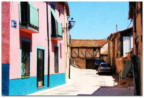 Calle de Turégano. Segovia