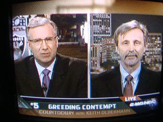 DSC05600 Thom on Keith Olbermann 2 by you.