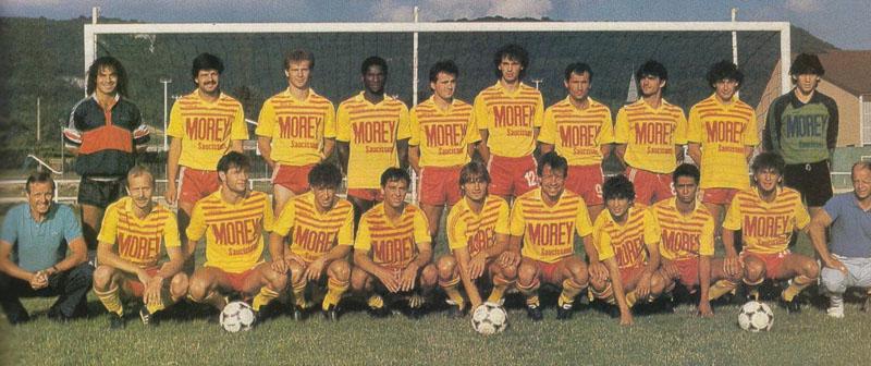 cuiseaux-louhans 1986-87