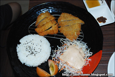 Deep Fried Pork Set