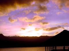 Hanalei Pier Sunset (gtsurf) Tags: ocean sunset hawaii pacific kauai hanaleibaypier