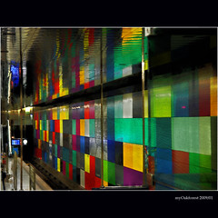 Subways in Munich (MyOakForest) Tags: station subway munich mnchen metro ubahn muc georgbrauchlering mywinners colorphotoaward colourartaward