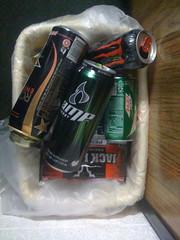 Contents of Boy's Room Trash