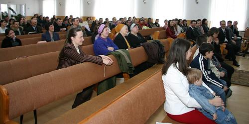"""Oaspeţii la primul botez al Bisericii """"Bunavestirea"""" din Chişinău"""
